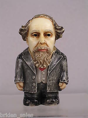 Harmony Kingdom Ball Pot Bellys / Belly 'Charles Dickens'  #PBHCD2  New In Box
