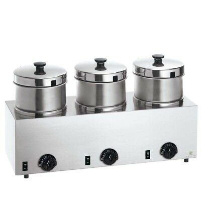 Server Triple FS-4 85900 Food Warmer w/4 Qt insets