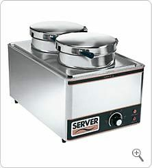 Server Full Size Pan Warmer w/insets FS-20SS 90080