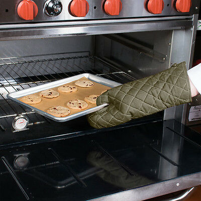 "6 Oven Mitts 17"" Free Shipping Us Only"