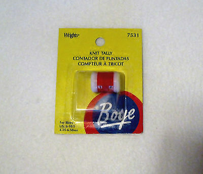 Boye Large Knit Tally - Row Counter