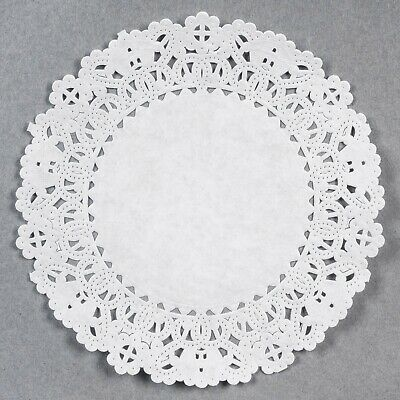 "Usa Seller  10"" Lace Doilies (500) Free Shipping Us Only"