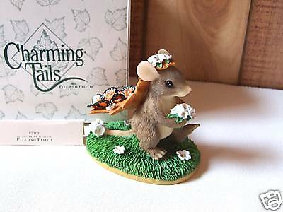 Fitz & Floyd Charming Tails Figurine 'Here Comes the Bride' MIB Wedding / Shower