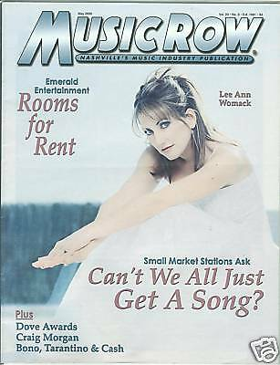 Lee Ann Womack cover Music Row magazine May 2000