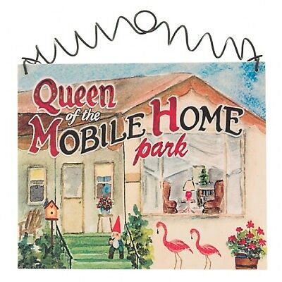 MOBILE HOME QUEEN Trailer Park Travel Manufactured Home