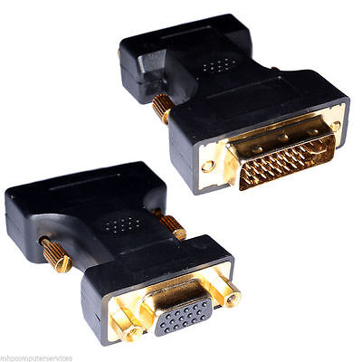 DVI-I Male to VGA Female Adaptor / Changer AV adapter convertor