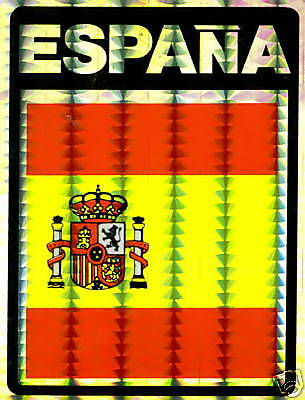 Spain, España Large Flag Stickers LOT NEW