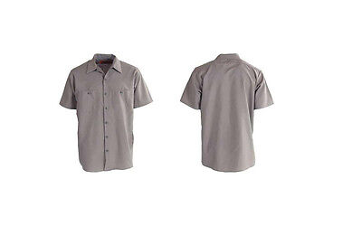 WHOLESALE LOT 12 NEW Uniform WORK SHIRT Red Kap Dickies U PIC Size