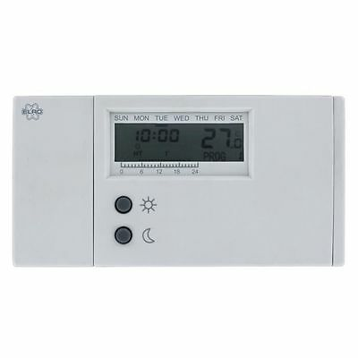 Thermostat Lcd Chauffage Climatisation 4 Programmes
