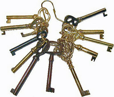 "M-1999 Sample Set Of Twelve Keys On 2"" Key Ring"