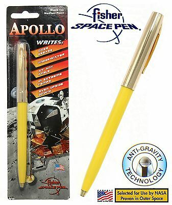 Fisher Space Pen #S251G-Yellow Apollo Series Pen in Yellow & Gold