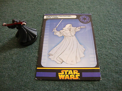 Emperor Palpatine Sith Lord Star Wars Miniatures Revenge Of The Sith