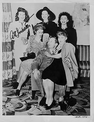 Art Linkletter Signed photo 8x10 COA R4/18 CHOICE OF 3 DIFFERENT