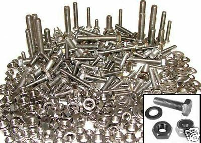 Stainless Steel Bolts, Nuts & Washers x 200, Go-Kart