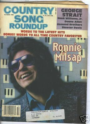 Ronnie Milsap Covers Country Song Roundup 1986