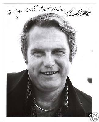 Ken White-signed photo-Certified