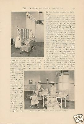 1900 Founding Small Hospitals Newton Hitchcock article