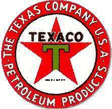 Texaco Vinyl Sticker (A491)