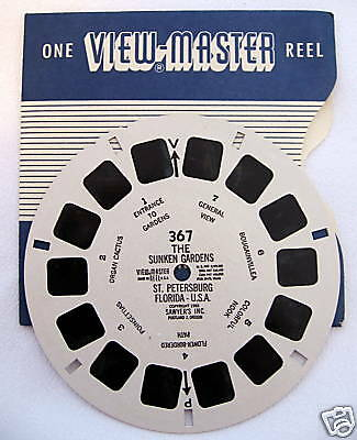 "VIEWMASTER ""THE SUNKEN GARDENS"" #367"