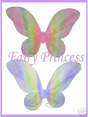 ** 6 Rainbow Fairy Wings *¨* Butterfly Tinkerbell