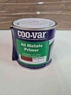 COO-VAR ALL METAL PRIMER RED WATER BASED 1x250ML