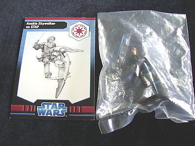 Anakin Skywalker On Stap Star Wars Miniatures Clone Wars