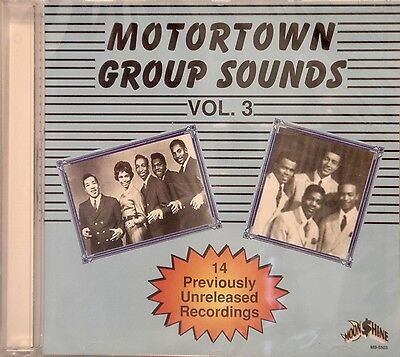 MOTORTOWN GROUP SOUNDS - Volume #3 - 27 VA Tracks