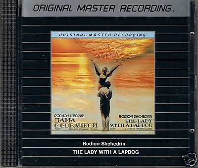 Shchedrin, R. The Lady with the Lapdog MFSL Silver CD