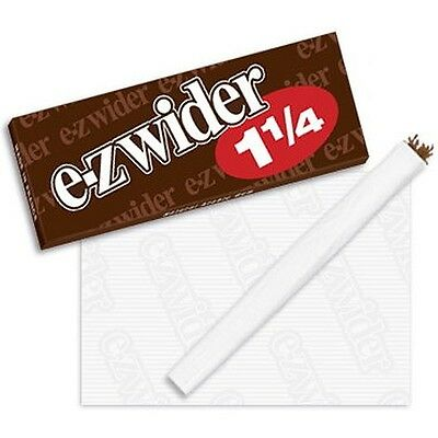 EZ-WIDER 1 1/4 Rolling Paper Papers 24 Booklets New Box