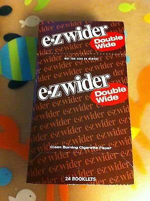 EZ-WIDER DOUBLE WIDE Rolling Paper 24 Booklets