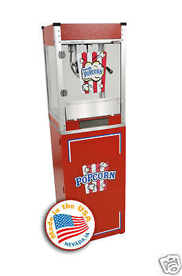 Home Theater Commercial Popcorn Machine Popper Cart Cineplex 4oz 1104800/3080800