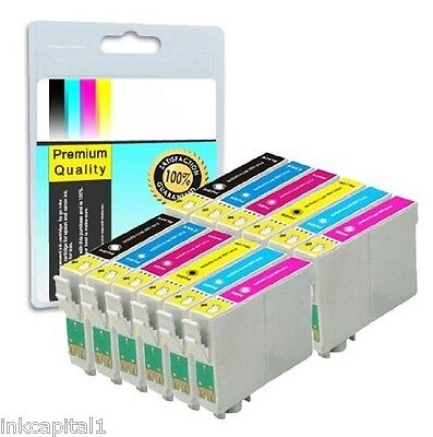 12 x Ink Cartridges CHIPPED For iP6600D