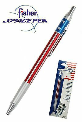 Fisher  Space Pen #SAFP5  / Red White & Blue Click Action Ballpoint Pen