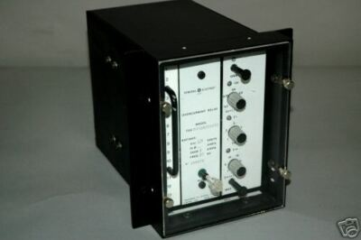 GE Transformer Overcurrent Relay TOC5102B201C00  MSI192 T0C5102B201C00