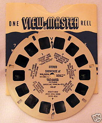 "VIEWMASTER ""STEREO SHOWCASE OF VM PICTURES"" #DR-37"