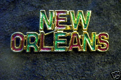 "Colorful Pgg ""New Orleans"" Souvenir Brooch"