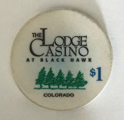 The Lodge $1 Casino Chip Black Hawk Colorado CO