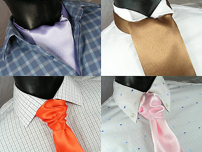 Wedding Cravat / Party Cravat / Ruche , many colours