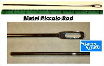 Metal Piccolo cleaning rod: attach swab and insert
