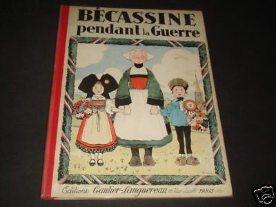 Becassine Pendant La Guerre Tbe++ 1929