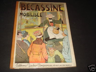 Pinchon Becassine Mobilisee Tbe++ 1930