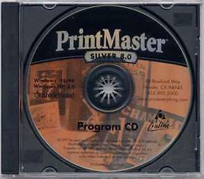 Printmaster Silver 8 - Pc ( New )