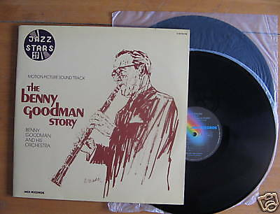 2 LP GATEFOLD BENNY GOODMAN STORY / MOTION PICTURE SOUND TRACK / excellent état