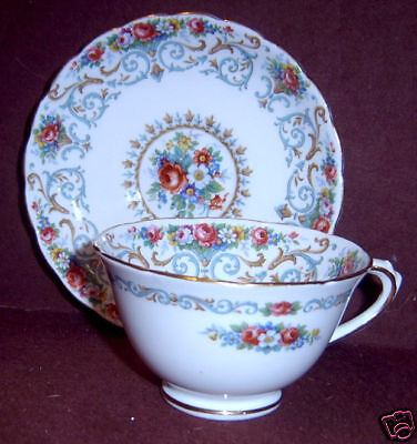 Tuscan Orleans C8389 Floral Roses Scrolls Saucer ONLY