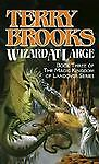Wizard at Large by Terry Brooks (1989, Paperback)