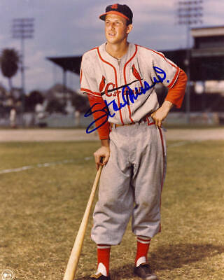 Stan Musial St. Louis Cardinals Autographed Signed 8x10 COA #1 DECEASED