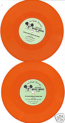 "Mickey Mouse Club 45-Mickey Mouse Club ""Song""and ""March"