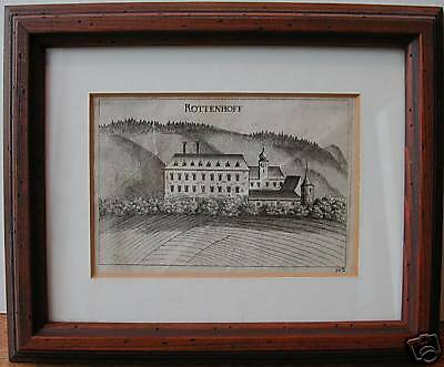"Original Vischer Stich ""Rottenhoff"""