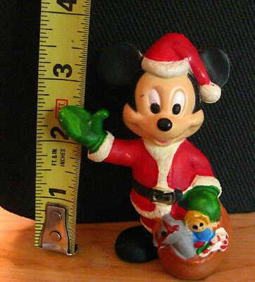 Mickey Mouse Santa Ornament Walt Disney Co on foot   That name changed in 1926