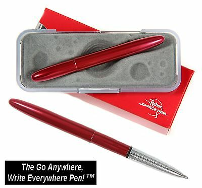Fisher Space Pen #400RC / Lacquered Red Cherry Bullet Pen